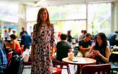 Starbucks Raffles Singapore