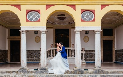 palacio marques da fronteira wedding